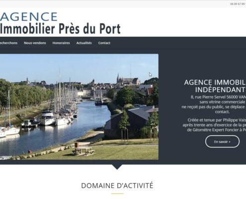 Référence Agence Immobilière Près du port à Vannes