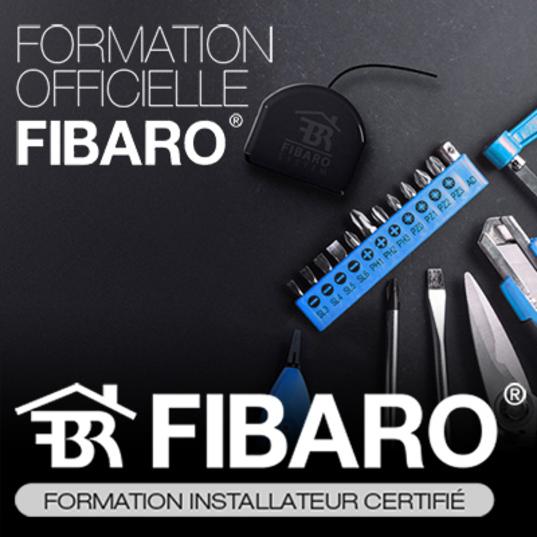 Visuel officiel Installateur certifié Fibaro