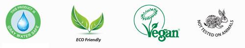 Logo et label produit d'entretien informatique